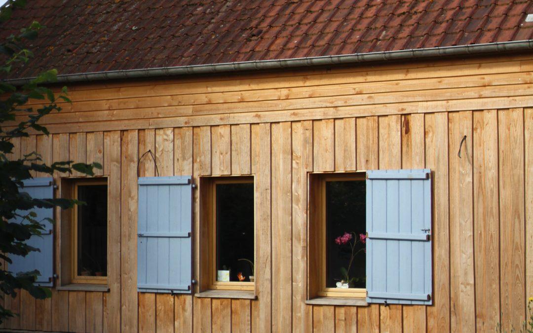 Réhabilitation globale d'une maison Picarde à pan de bois. secteur Amiens / Poix de Picardie / Conty