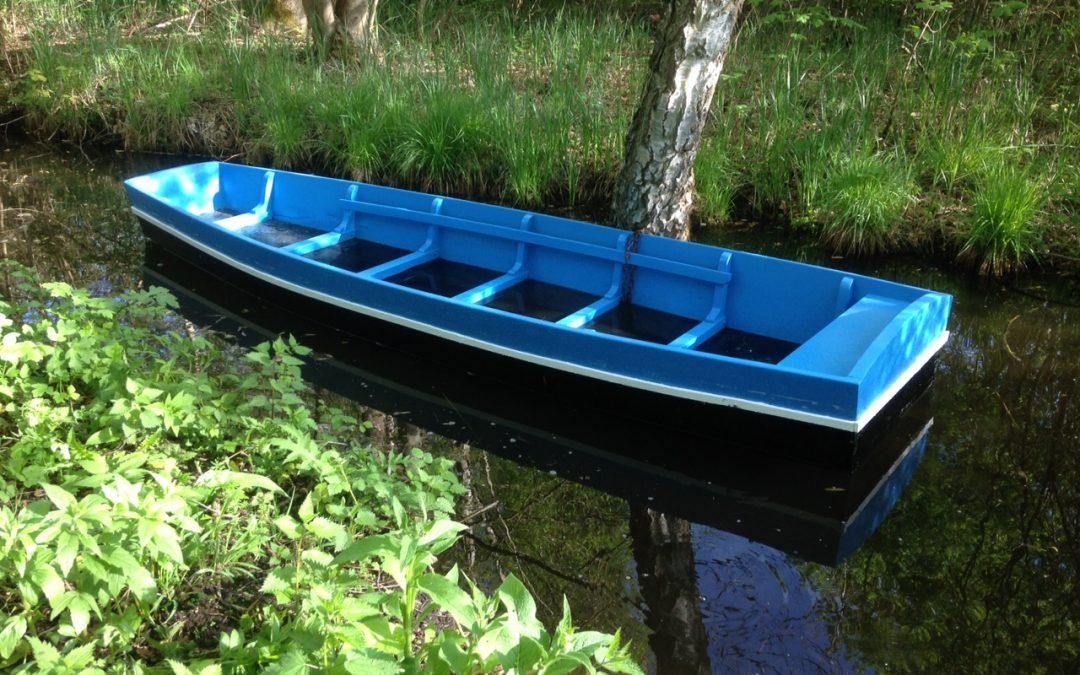 barque plate de l'Avre, grisard et chêne. gîtes hortillonages